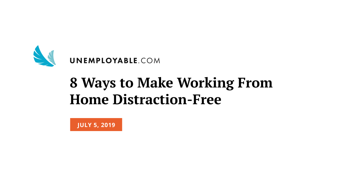 Create a Distraction-Free Home Office