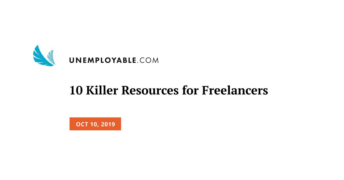 10 Killer Resources for Freelancers